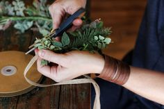 Check out our tutorial on making your own beautiful flower crown.  Perfect for weddings or photo shoots!