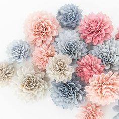 Rose Quartz Collection - Wooden Flowers, Wedding Decorations, Wedding Flowers, Wedding Table Decor, Wooden Flowers