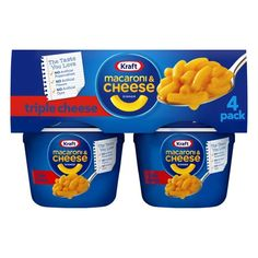 Quick Mac And Cheese, Mac And Cheese Cups, Making Mac And Cheese, Macaroni Pasta, Macaroni Cheese, Gourmet Food Store, Gourmet Recipes, Kraft Mac N Cheese, Microwave Dinners