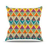 Found it at Wayfair - My Diamond by Julia Grifol Throw Pillow