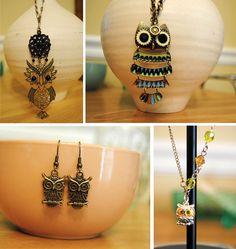 Owl Jewellery Are Exquisite