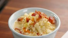 Bacon Cauliflower Chowder  - Delish.com