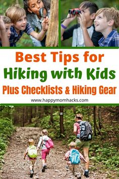How to Hike with Kids & Best Tips for Hiking with kids. Simple ways to make a day of hiking stress-free and fun with your family. Plus cool hiking gear that will make the day easy, a free hiking checklist to have you prepared for anything, and a free printable Nature Scavenger Hunt. Everything you need to be prepared for hiking with kids so the whole family can enjoy the day out together. Massanutten Resort, Hiking Checklist, Best Hiking Gear, Best Hiking Backpacks, Games To Play With Kids, North Carolina Vacations, Best Weekend Getaways, Hiking With Kids, Best Resorts