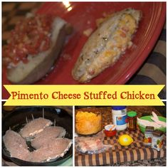 Pimento Cheese Stuffed Chicken | Recipes We Love