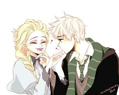 Sweety.but they aren't both in hogwarts.but still is sweety