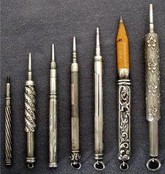 Vintage lead holders
