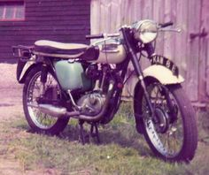 Triumph Tiger Cub T20B one of the last Bantam cubs made1967, photo taken 1971.
