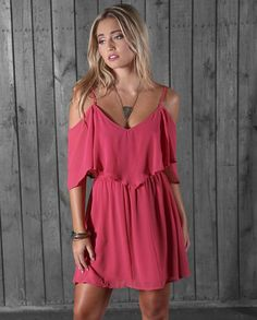23ad4525cba76 Wrangler Ladies Rose Strappy Cold Shoulder Dress Country Dresses