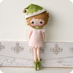Gingermelon Dolls: Evie, a Christmas Elf