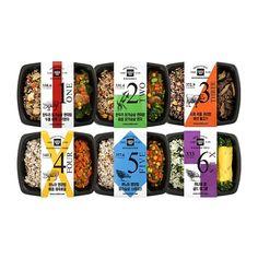 더바른 도시락 12종 : 네이버 블로그 Salad Packaging, Takeaway Packaging, Vegetable Packaging, Cool Packaging, Food Packaging Design, Print Packaging, Y Food, Deli Food, Menu Design
