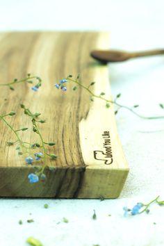 Nutty cutting board