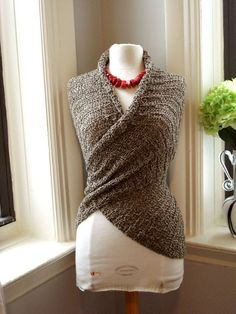 crochet wrap top