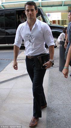 Henry Cavill. Superman / Theseus from Immortals. He's kinda hot!