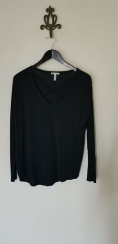 Details about Victoria s Secret Black Criss Cross Strappy Sleep Lounge Top  Women s XS ddac0823c8f5
