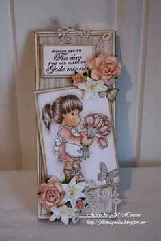 Jills Scrappeside: chocolate card