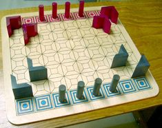 Teleporters strategy boardgame