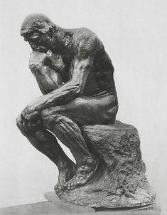 Le penseur - Rodin -