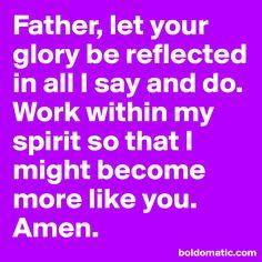 I want to reflect u!