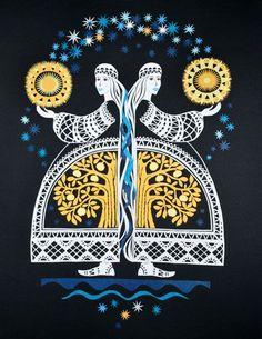 Uki folk art