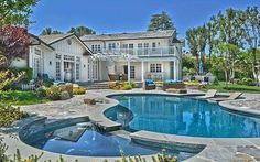 Pin for Later: The Craziest Celebrity House Swaps Yet Iggy Azalea and Selena Gomez Iggy Azalea picked up Selena Gomez's former home. The $3.45 million property is bright and airy and includes a luxurious pool and basketball court.