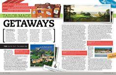 Golf Georgia Editorial/Magazine Design