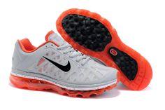 Kvinna Nike Air Max 2011 Skor Vit Orange 58770