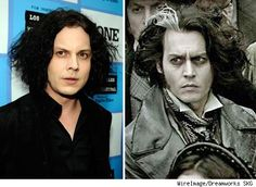 This can't be the reason I'm so attracted to Jack White, can it? lol Johnny and Jack! It's like a dream come true.