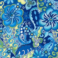 Buy PUL fabric in calypso blues print by the yard or cut. Make cloth diapers, snack bags and more! Made in USA. Waterproof, breathable, food safe, CPSIA compliant.PUL print material. Print PUL. Cute fun print PUL for sewing cloth diapers, diaper covers, and more. How to sew PUL.