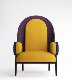 Modern and fun design | colorful armchairs for young ans relax decor |www.bocadolobo.com/ #modernchairs #luxuryfurniture #chairsideas