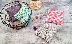 Couture facile: bouillotte sèche diy