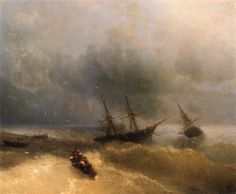 The Shipwreck - Ivan Aivazovsky