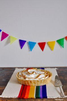 Passion Fruit Pie from ¡Hola! Jalapeño via @MexicoIn My Pocket