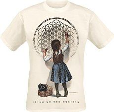 Bring Me The Horizon Sempiternal Girl T-Shirt sand