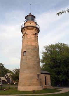 Erie Land Lighthouse, Pennsylvania at Lighthousefriends.com