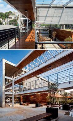 FGMF Projeta o Edifício Corujas, empreendimento horizontal com espaços corporativos em São Paulo   aU - Arquitetura e Urbanismo