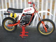 Villa CR 480 cc.