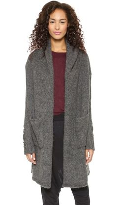 soft hooded coat cardigan grey shopbop discount code 25% off limited time only
