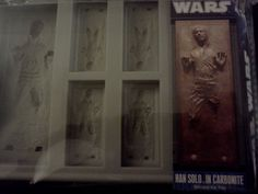 Han Solo ice tray, thanks bro great gift.