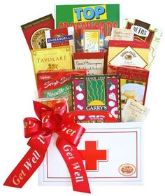 Get Well Gift Basket  Feel Better Care Package * You can find more details by visiting the image link. #GetWellGift
