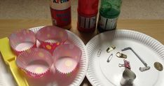 This is a really effective and fun way to help children to think about God being with them, guiding and helping them, even when they can& see Him. Be warned that it might get a bit messy! My Church, Kids Church, Holiday Club, Pentecost, Children And Family, Creative Kids, Paper Plates, Magnets, God