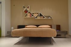 AIR BED | LAGO | Pinterest | Bed design, Shelving and Contemporary
