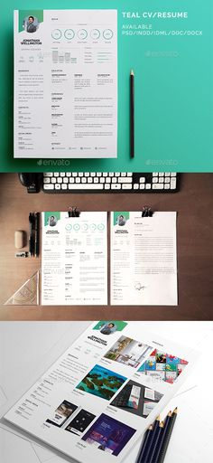Material CV Template AI, INDD, PSD \ DOCX File Download here - resume template psd