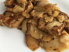 Szynka pieczona z ziemniakami