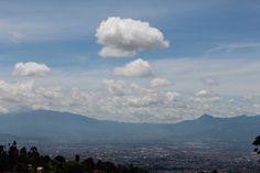 #landscape view bandung city paneuteng....