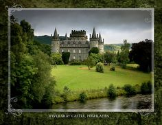 Inverrary Castle, Inveraray, county of Argyll, Scotland, UK. Scotland Castles, Scottish Castles, Beautiful Castles, Beautiful Places, Dream Vacations, Vacation Spots, Oh The Places You'll Go, Places To Visit, Inveraray Castle