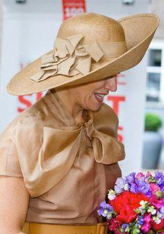 Queen Máxima , May 23, 2014 in Fabienne Delvigne | Royal Hats