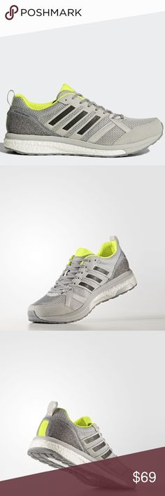84a658a8678147 Adidas Adizero Tempo 9 Grey Mens 12 NEW Synthetic Imported Rubber sole  Shaft measures approximately low