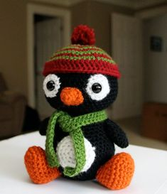 Pepe the Penguin amigurumi crochet pattern by Little Muggles ($3.99) | amigurumipatterns.net