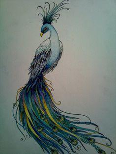 deviantart phoenix peacock - Google Search