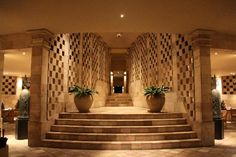 Lobby at the Amanjiwo Hotel